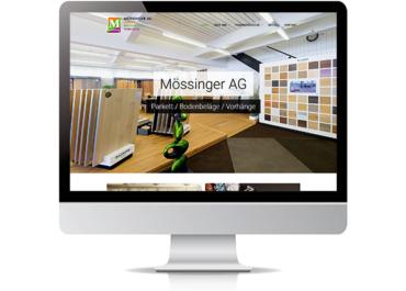 Neue Webseite der Mössinger AG